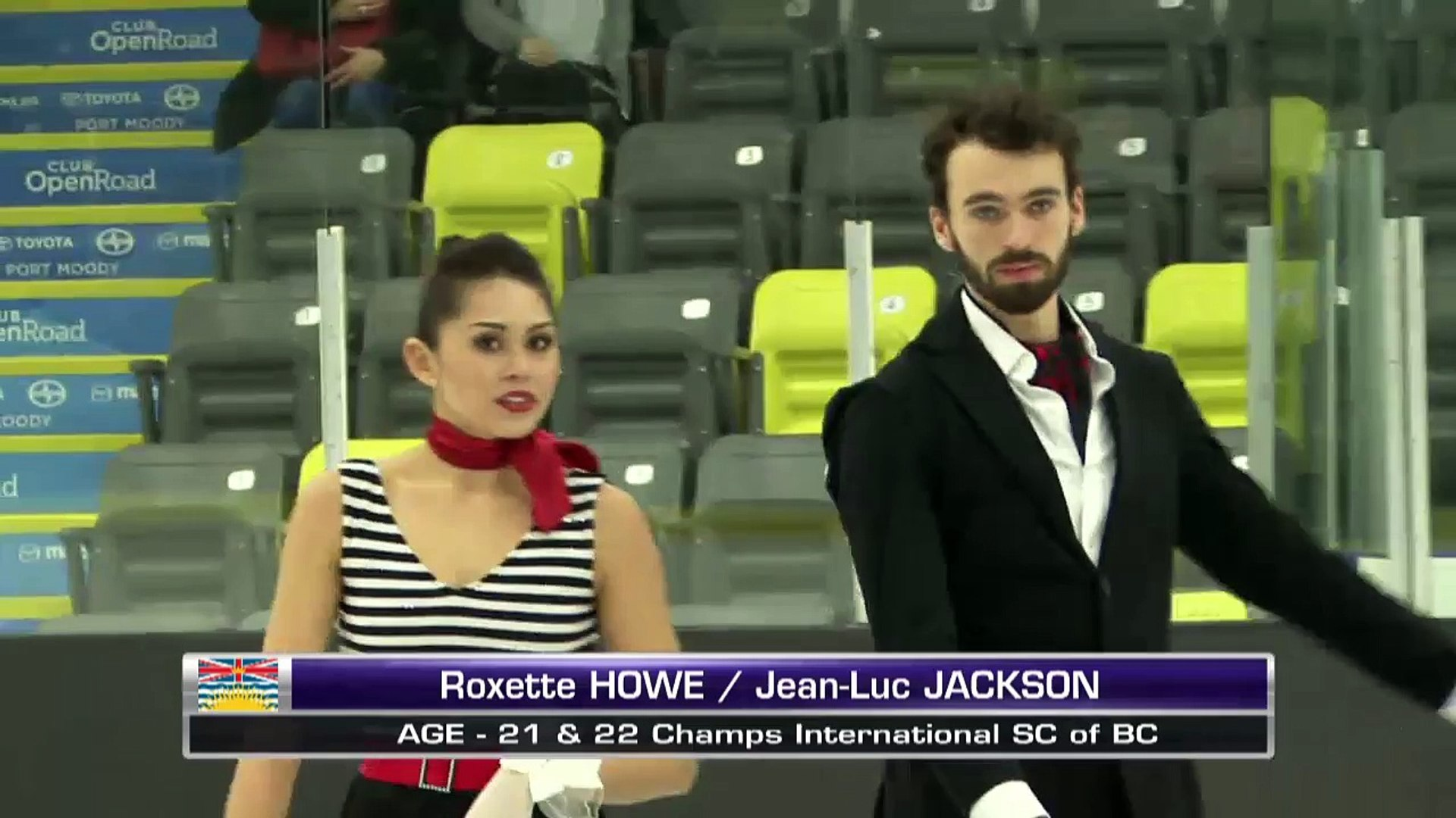 Roxette Howe/Jean-Luc Jackson - Senior Short Dance - 2016 Skate Canada BC/YK Sectional Championships