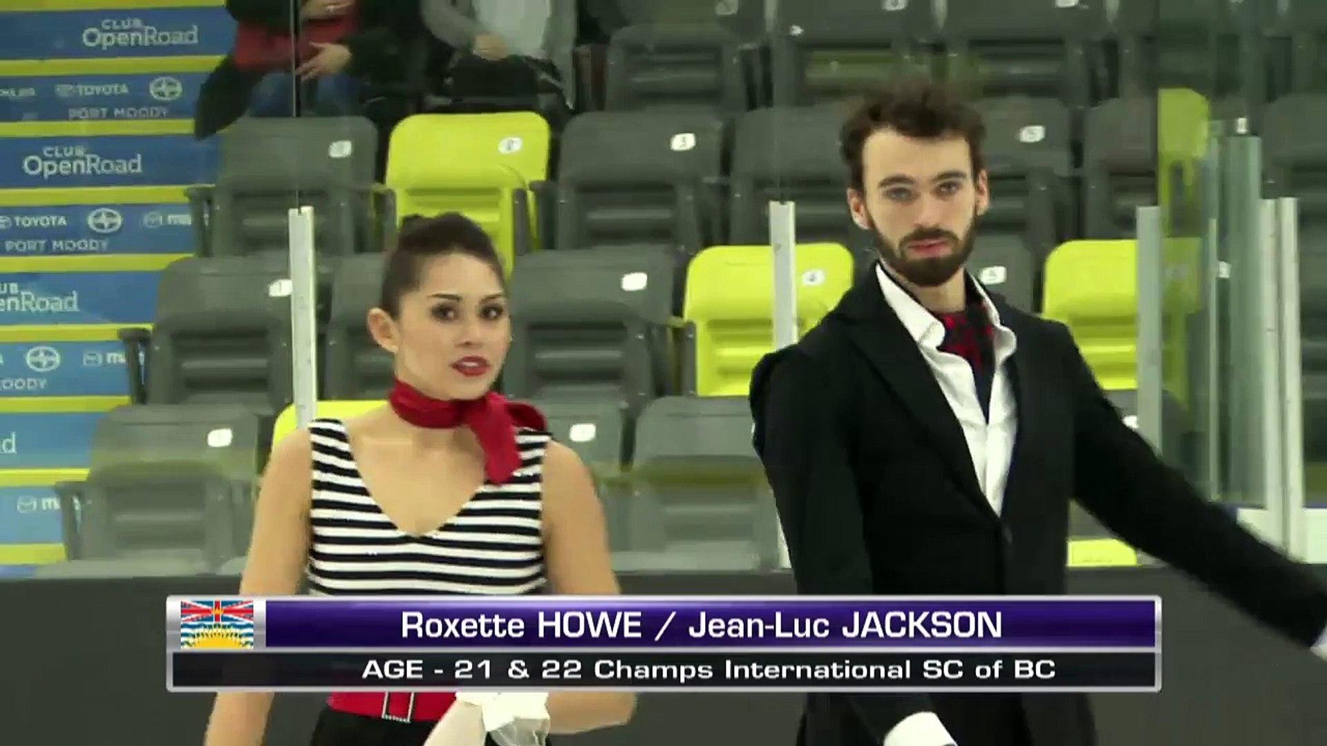 Roxette Howe/Jean-Luc Jackson - Senior Short Dance - 2016 Skate Canada BC/YK Sectional Championships