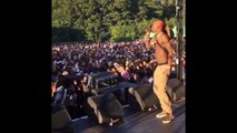 Rich Homie Quan Security Destroys Fan Who Ran On Stage At AppleFest