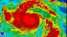 フィリピン 台風 レイテ島の様子を伝える現地テレビニュース (Phili