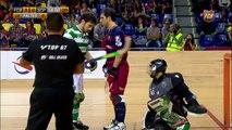 Hoquei patins (Copa Continental): FCB Lassa – Sporting CP (5 1)