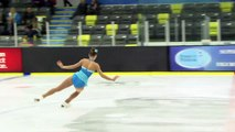 Sarah Steberl - Novice Women Short - 2016 Skate Canada BC/YK Sectional Championships