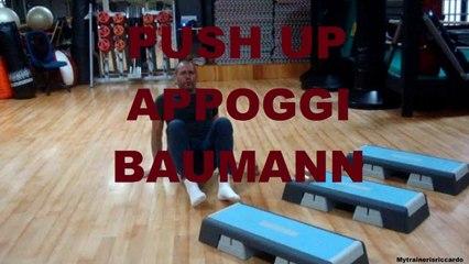 Push up bar o appoggi Baumann.