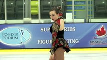 Shaelynne Macauly - Junior Women Short - 2016 Skate Canada BC/YK Sectional Championships