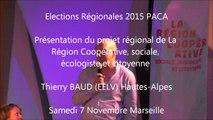 Thierry-BAUD  / Elections régionales  PACA/Meeting / 1er décembre 2015 / Marseille
