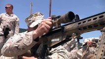 US Military MOST FEARED sniper rifle the M107 rifle