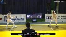 CdM fleuret dames St-Maur 2015 - Equipes Tableau 16 > 1/4 finale + match classement piste jaune (8/11/2015)