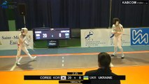 CdM fleuret dames St-Maur 2015 - Equipes Tableau 16 > 1/4 finale + match classement piste rouge (8/11/2015)