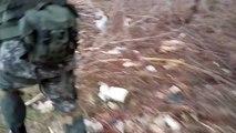Учебный бой отделения с участием БТР. Батальон Спарта. Ополчение Новороссии.