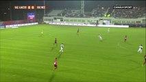 Splendide but de Gregory Pujol lors de GFC Ajaccio vs Nice!