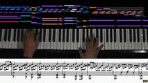 Beethoven Moonlight Sonata (animated score, 1st mvt.) piano solo