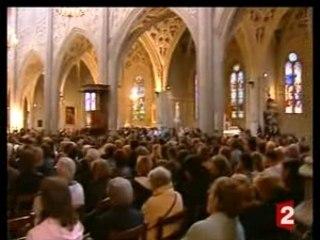 Gregory Lemarchal - Obsèques FR2