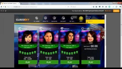 Bookmaker et casino bitcoin Cloudbet - revue vidéo