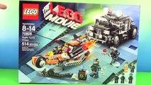 NEW 2014 LEGO Movie! Super Cycle Bike Build Emmet Wyldstyle (70808) Stop Motion by HobbyKidsTV