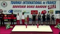 AS 1/3 Tournoi international haltérophilie Denis Randon 2015 13ème édition Clermont-l'Hérault 34)
