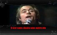 Alain Barrière - Une autre vie (karaoké réalisé par Softchess)