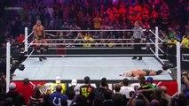 Dolph Ziggler Superkick to Randy Orton