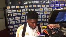 Réaction fin de match OL - ASSE : Samuel Umtiti