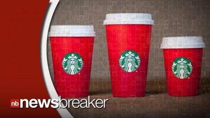 """Outcry Over Starbucks Red """"Holiday"""" Cup Goes Viral on Social Media"""