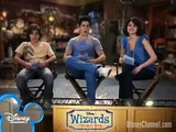 Wizards of Waverly Place Disney Channel On Set Wizards Rapid Fire Q&A