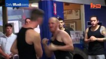 Underground bare knuckle boxers duke it out for big money