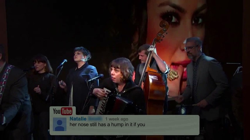The Decemberists Sing YouTube Comments