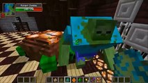TURTLE BOSS VS MUTANT CREEPER, MUTANT ZOMBIE, & T-REX - Minecraft Mob Battles - Mods