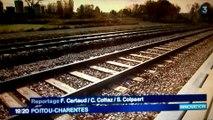 Reportage France 3 Poitou-Charentes sur l'inauguration de la plateforme multimodale Niort Terminal