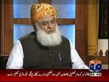 Why You Got Hyper on Imran Khan's Name? - Listen Maulana Fazal-ur-Rehman's Reply