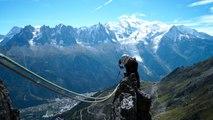 Aiguille de la Charlanon Arête du Doigt Aiguilles Rouges Chamonix alpinisme escalade