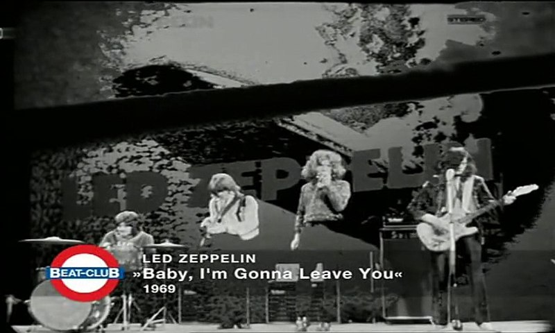 BabyI'm Led Leave You 1969 Zeppelin Gonna Rq5j3AL4