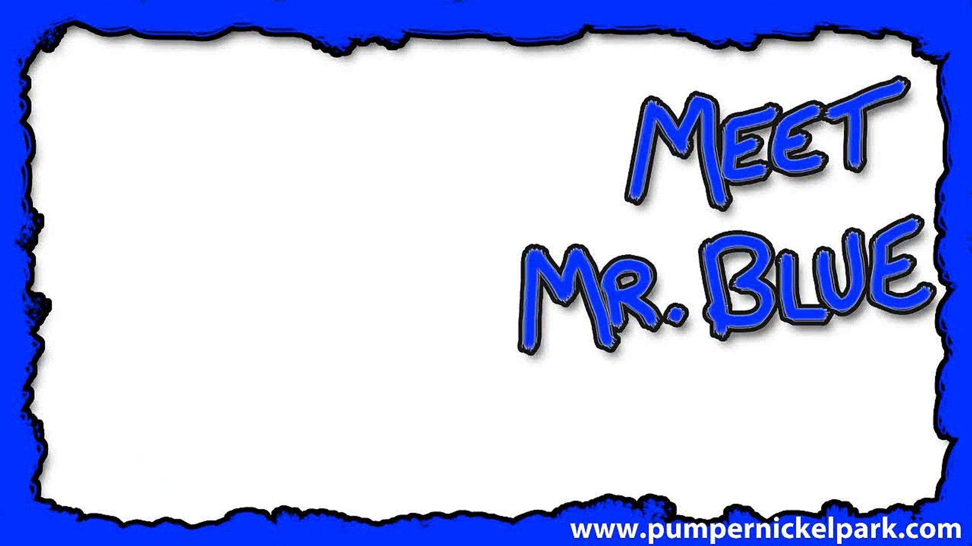Meet Mr. Blue - Color Kids Learning Colors - Kids Educational - TV Shows Online - Puppet Show