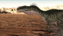 """Sexy Dino Hunter"" 3D CG Animation"