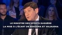 Affaire Valbuena: Le ministre des Sports suggère la mise à l'écart des joueurs mis en examen