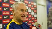 Declaracions de Marc Carmona i Jesús Aicardo abans del Barça Lassa (futbol sala) - Palma Futsal