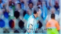 Cristiano Ronaldo & Lionel Messi ● Crazy Solo Goals HD