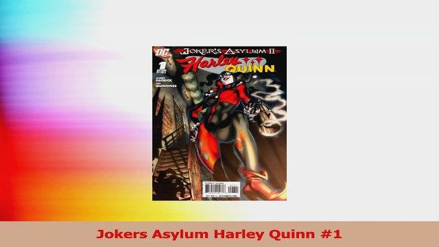 Jokers Asylum Harley Quinn 1 PDF Free