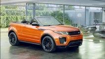 Range Rover Evoque Cabriolet: un SUV cabriolet compact premium quatre saisons