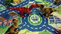 Dinosaurs Cartoons For Children _ Dinosaurs Vs Dinosaurs Toys For Kids _ Dinosaurs Cartoons In City