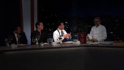 Cooking & Eating with Chef Massimo Bottura   JimmyKimmel