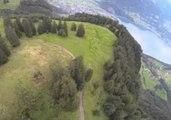 Wingsuit Enthusiast Resembles Manual Drone