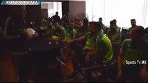 Broma a Tuca Ferreti de los Jugadores de la Seleccion Mexicana 2015