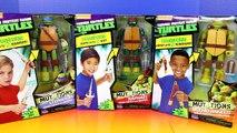 Nickelodeon TMNT Teenage Mutant Ninja Turtles Transform Mutations Leonardo Raphael Michela