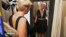 Audrey essaye une robe complètement transparente !
