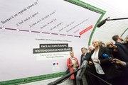 Lancement de la campagne contre le harcèlement sexiste et les violences sexuelles dans les transports