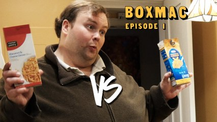 BoxMac 1: Market Pantry vs. Kraft Original