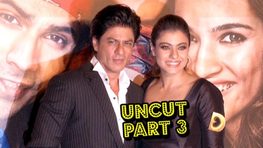 Dilwale Trailer Launch | Shahrukh Khan, Kajol, Varun Dhavan & Kriti Sanon | Part 3