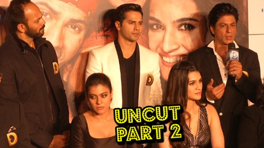 Dilwale Trailer Launch | Shahrukh Khan, Kajol, Varun Dhavan & Kriti Sanon | Part 2