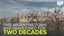 Flooded Ghost Town Becoming Popular Tourist Attraction In Argentina