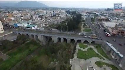 Río Cutuchi, una de las preocupaciones de Latacunga y Salcedo